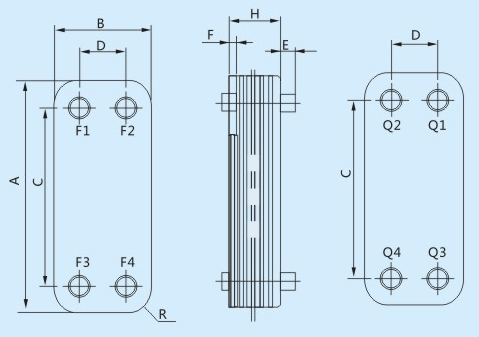 Heat Exchanger Dimensions