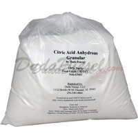 20 lb bag of Citric Acid food grade USP FCC High Quality Made in USA