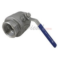 "2PC Heavy Ball Valve WOG1000 Type I 3"" NPT"