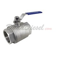 "2PC Heavy Ball Valve WOG1000 Type I 4"" NPT"