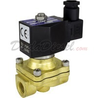 2-way Solenoid Valve normally closed 3/8""