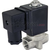 2-way stainless steel viton seal solenoid valve 1/4""