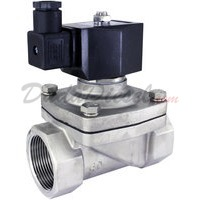 "1-1/4"" stainless steel solenoid valve 2-way"