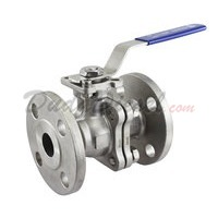 "150 lb 2PC Flange Ball Valve 1"" NPT"