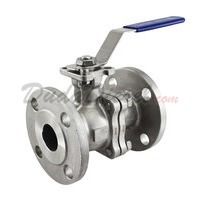 "150 lb 2PC Flange Ball Valve 1-1/4"" NPT"