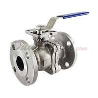 "150 lb 2PC Flange Ball Valve 1-1/2"" NPT"