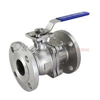 "150 lb 2PC Flange Ball Valve 2"" NPT"