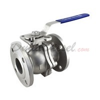 "150 lb 2PC Flange Ball Valve 2-1/2"" NPT"