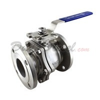 "150 lb 2PC Flange Ball Valve 3"" NPT"