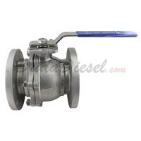 "150 lb 2PC Flange Ball Valve 4"" NPT"