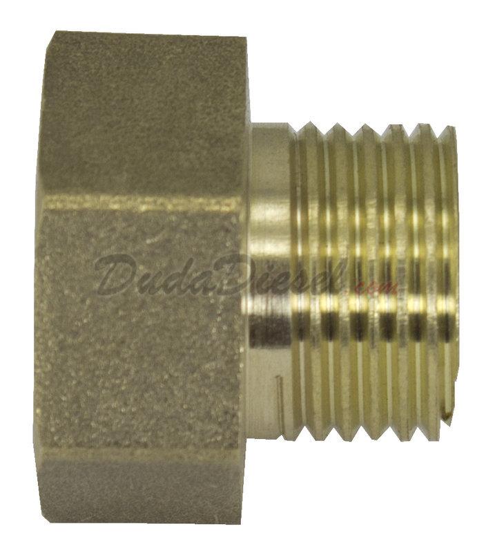 Brass Adapter Brass Adaptf075xm050 Dudadiesel