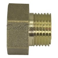 "G-Thread Brass Adapter 3/4"" Female x 1/2"" male"