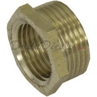 "Brass Bushing 3/4"" Male x 1/2"" Female"