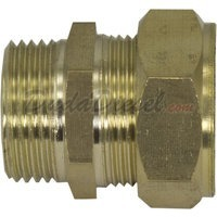 "G-Thread 3/4"" Brass Compression x 3/4"" Male Fitting"