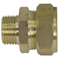 "G-Thread 3/4"" Brass Compression x 1/2"" Male Fitting"
