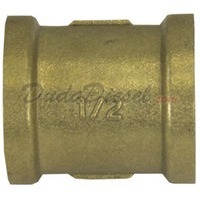 "G-Thread 1/2"" Brass Coupling"