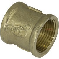 "G-thread 3/4"" Brass Coupling"