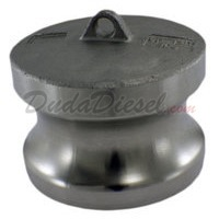 "1-1/2"" Cam Lock Adapter Cap"