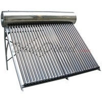 24 tube SUS304 Passive Solar Water Heater System