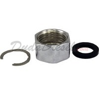 "Tubing Nut PTFE Gasket C Ring for Duda's 1/2"" Flex Tubing"