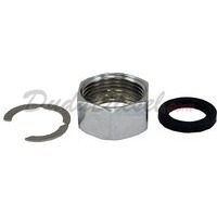 "Tubing Nut PTFE Gasket C Ring for Duda's 3/4"" Flex Tubing"