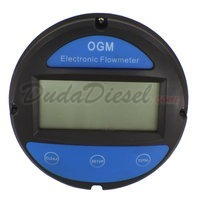 "OGM-25D - High Quality 1"" Fueling Flow Meter Top View"