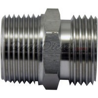 "Garden Hose Male x 3/4"" Male NPT Adapter Stainless Steel"
