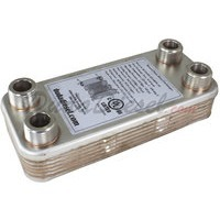 B3-14DW 10 Plate Double Wall Heat Exchanger