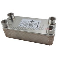 "B3-32A 30 Plate Heat Exchanger 1"" Female NPT"