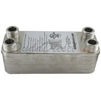 "B4-12A (Nickel) 20 Plate Heat Exchanger 3/4"" Male"