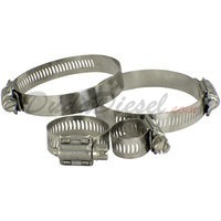 All 304 Stainless Steel Hose Clamps