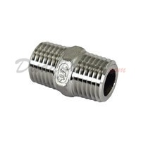 "ISO 4144 Cast Hex Nipple 1/4"" NPT"