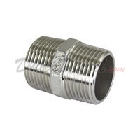 "ISO 4144 Cast Hex Nipple 3/4"" NPT"