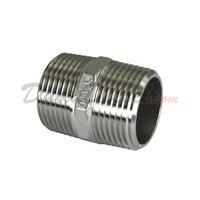"ISO 4144 Cast Hex Nipple 1"" NPT"