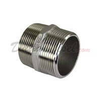 "ISO 4144 Cast Hex Nipple 1-1/2"" NPT"