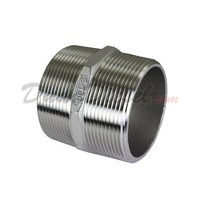 "ISO 4144 Cast Hex Nipple 2"" NPT"