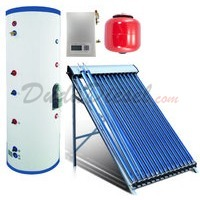 pressurized solar water heater full system