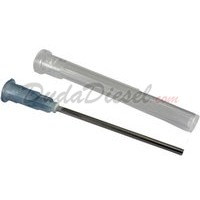 15G blunt tip fill needle with plastic cap