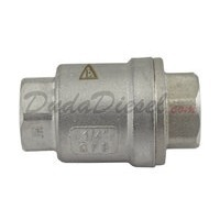 "1/4"" Vertical Check Valve SUS304"