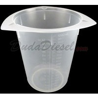 1000ml tri-pour chemical resistant polypropylene beaker