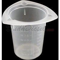 100ml tri-pour chemical resistant polypropylene beaker