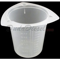 250ml tri-pour chemical resistant polypropylene beaker