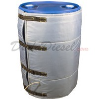insulated blanket drum heater