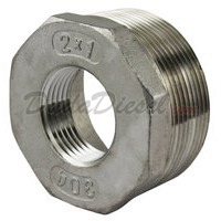 "SS304 Bushing 2"" Male x 1"" Female"