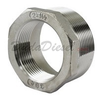"SS304 Bushing 2"" Male x 1-1/2"" Female"
