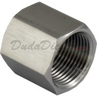 "3/8"" hex stainless steel pipe cap"