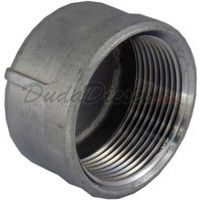 "1-1/4"" standard stainless steel cap pipe"