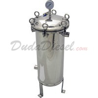 304 Stainless Steel Filter Bag Housing