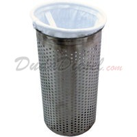 filter bag strainer basket