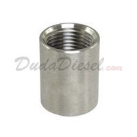 "ISO 1/4"" Coupling Stainless Steel Fitting"
